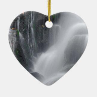 Wasserfall Keramik Ornament
