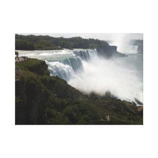 Wasserfall Leinwanddruck
