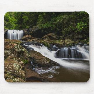 Wasserfall-Lippenfälle Gold Coast Australien Mauspad