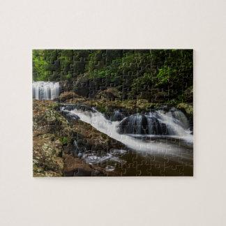 Wasserfall-Lippenfälle Gold Coast Australien Puzzle