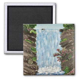 Wasserfall-Magnet Quadratischer Magnet
