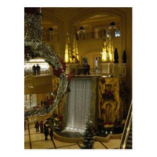 Wasserfall Palazzo Postkarte