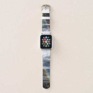 Wasserfall-Regenbogen, Apple-Uhrenarmband Apple Watch Armband