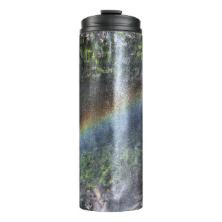 Wasserfall-Regenbogen-Thermaltrommel Thermosbecher