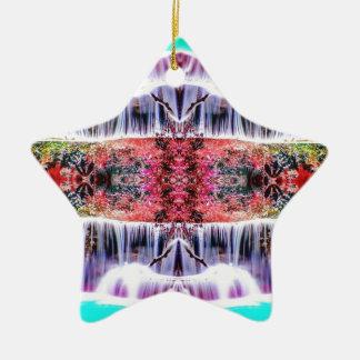 Wasserfall-Träume Keramik Ornament