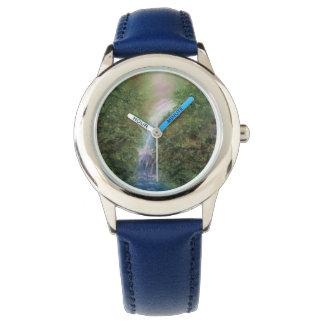Wasserfall, Wasserfälle, flüssiger Wasserfall, Armbanduhr