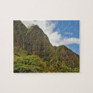 Wasserfälle, nach dem Regen, Iao Tal, Maui Puzzle