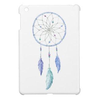 Wasserfarbe Dreamcatcher mit 3 Federn iPad Mini Hülle
