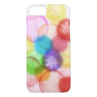 Wasserfarbe-Farben-Spritzer-Telefon-Kasten iPhone 8/7 Hülle