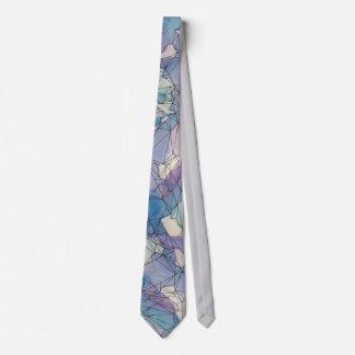 Wasserfarbe-geometrische Krawatte