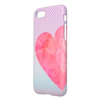 Wasserfarbe-Herz iPhone Fall iPhone 8/7 Hülle