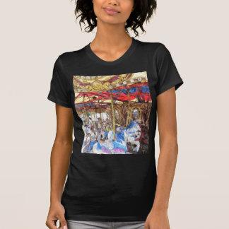 Wasserfarbe-Karussell T-Shirt