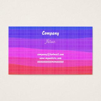 Wasserfarbe-Regenbogen, Visitenkarte
