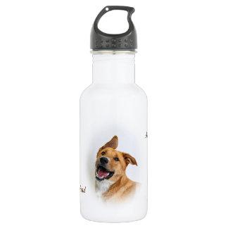 Wasserflasche, die Oscar kennzeichnet Trinkflasche