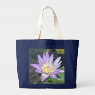 Wasserlilie-riesige Taschen-Tasche Jumbo Stoffbeutel