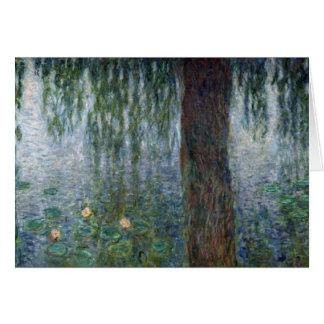 Wasserlilie-weinende Weiden Claudes Monet | Karte