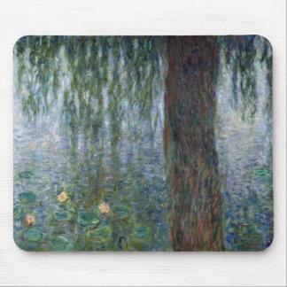 Wasserlilie-weinende Weiden Claudes Monet   Mauspad