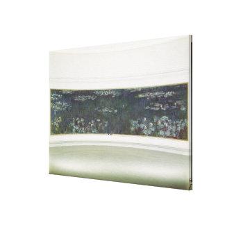 Wasserlilien Claudes Monet |, 1915-26 Leinwanddruck