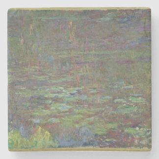 Wasserlilien Claudes Monet   am Sonnenuntergang Steinuntersetzer