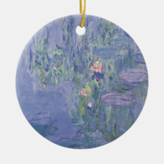 Wasserlilien Claudes Monet | Keramik Ornament