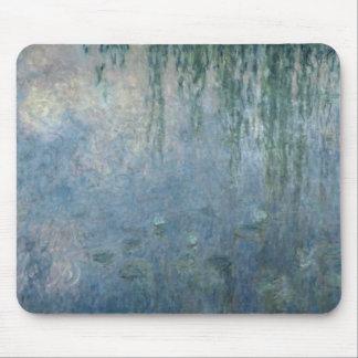 Wasserlilien Claudes Monet |: Morgen-weinende Mauspads