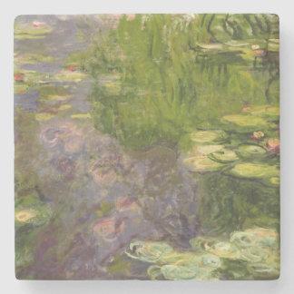 Wasserlilien Claudes Monet   Steinuntersetzer