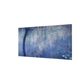 Wasserlilien Claudes Monet |: Weinende Weiden Leinwanddruck