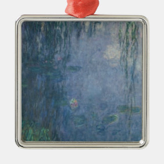 Wasserlilien Claudes Monet  : Weinende Weiden, Silbernes Ornament