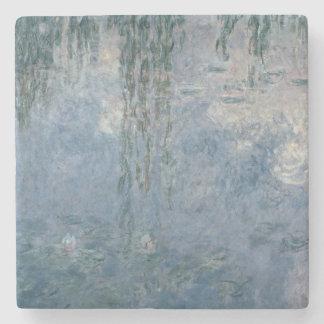 Wasserlilien Claudes Monet  : Weinende Weiden, Steinuntersetzer