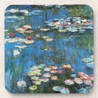 Wasserlilien durch Claude Monet, Vintager Getränkeuntersetzer