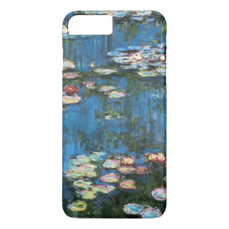 Wasserlilien durch Claude Monet, Vintager iPhone 8 Plus/7 Plus Hülle