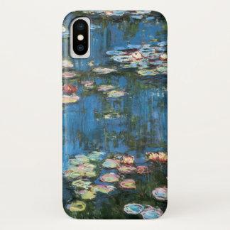 Wasserlilien durch Claude Monet, Vintager iPhone X Hülle