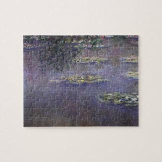 Wasserlilien, Wasser Landcape durch Claude Monet Puzzle