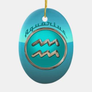 Wassermann-astrologisches Zeichen Keramik Ornament