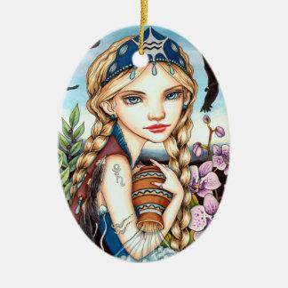 Wassermann Keramik Ornament