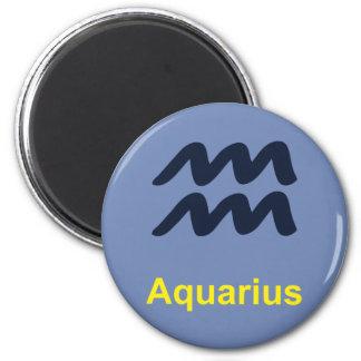 Wassermann-Kühlschrank-Magnet Runder Magnet 5,7 Cm
