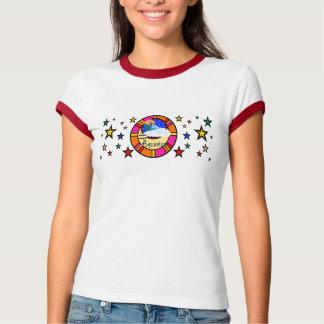 WASSERMANN-MEERJUNGFRAU IM RAUM T-Shirt