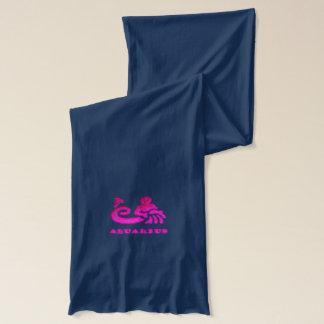 Wassermann-Tierkreis-Symbol Schal