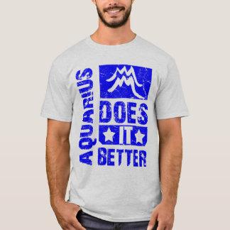Wassermann - verbessert es Astrologie-T - Shirt