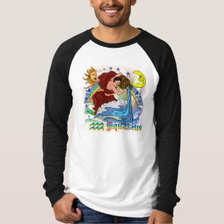 Wassermann-Vordere Rückseite T-Shirt