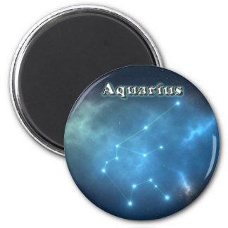 Wassermannkonstellation Runder Magnet 5,1 Cm
