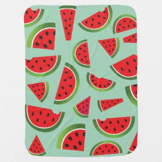 Wassermelone-Baby-Decke Babydecke