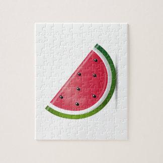 Wassermelone - Emoji Puzzle