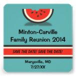 Wassermelone-Familien-Wiedersehen Save the Date