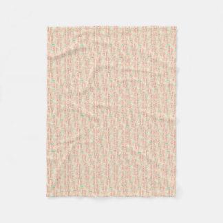 Wassermelone-Fleece-Decke (klein) Fleecedecke