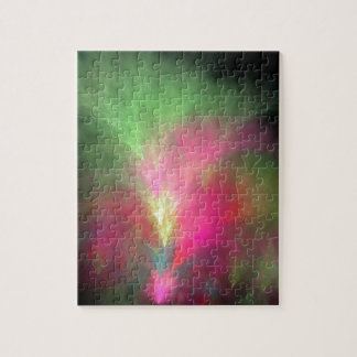 Wassermelone-Fraktal Puzzle