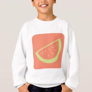 Wassermelone-Frucht-Ikone Sweatshirt