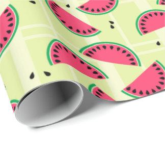 Wassermelone, Frucht, Sommer, Picknick, Melone, Geschenkpapier