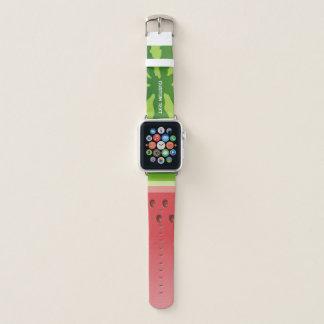 Wassermelone-Hintergrund Apple Watch Armband