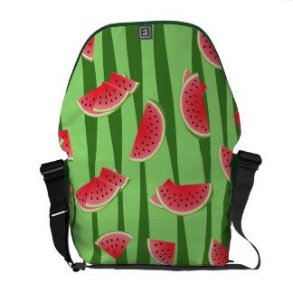 Wassermelone Kuriertasche